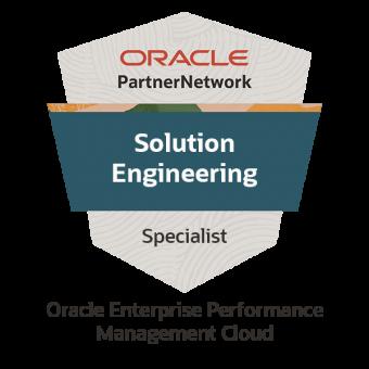 Oracle Enterprise Performance Management Cloud Solution Engineer Specialist