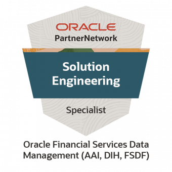 Oracle Financial Services Data Management (AAI, DIH,FSDF) Solution Engineer Specialist