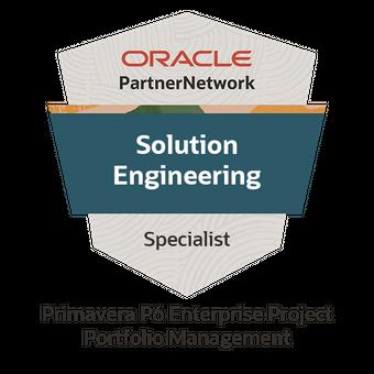 Oracle Primavera P6 Enterprise Project Portfolio Management Solution Engineering Specialist