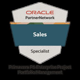 Oracle Primavera P6 Enterprise Project Portfolio Management Sales Specialist