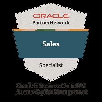 Oracle E-Business Suite R12 Human Capital Management Sales Specialist
